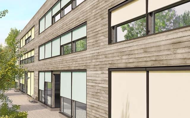 Senkrecht markisen produkte vertical box arondo storen ag for Raumgestaltung haller